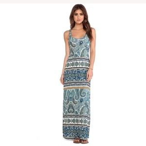 Velvet by Graham & Spencer Taj Paisley Maxi Dress